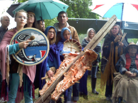 Cowlitz First Salmon Ceremony, Photo Unknown