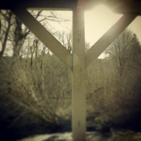 Porch runes.