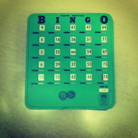 Monday night Bingo at thee Pe Ell Pub.